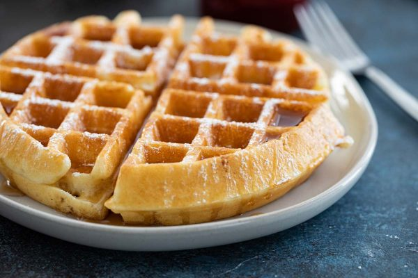 Recipe for the best waffles