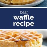 How to Make the Best Waffle Recipe