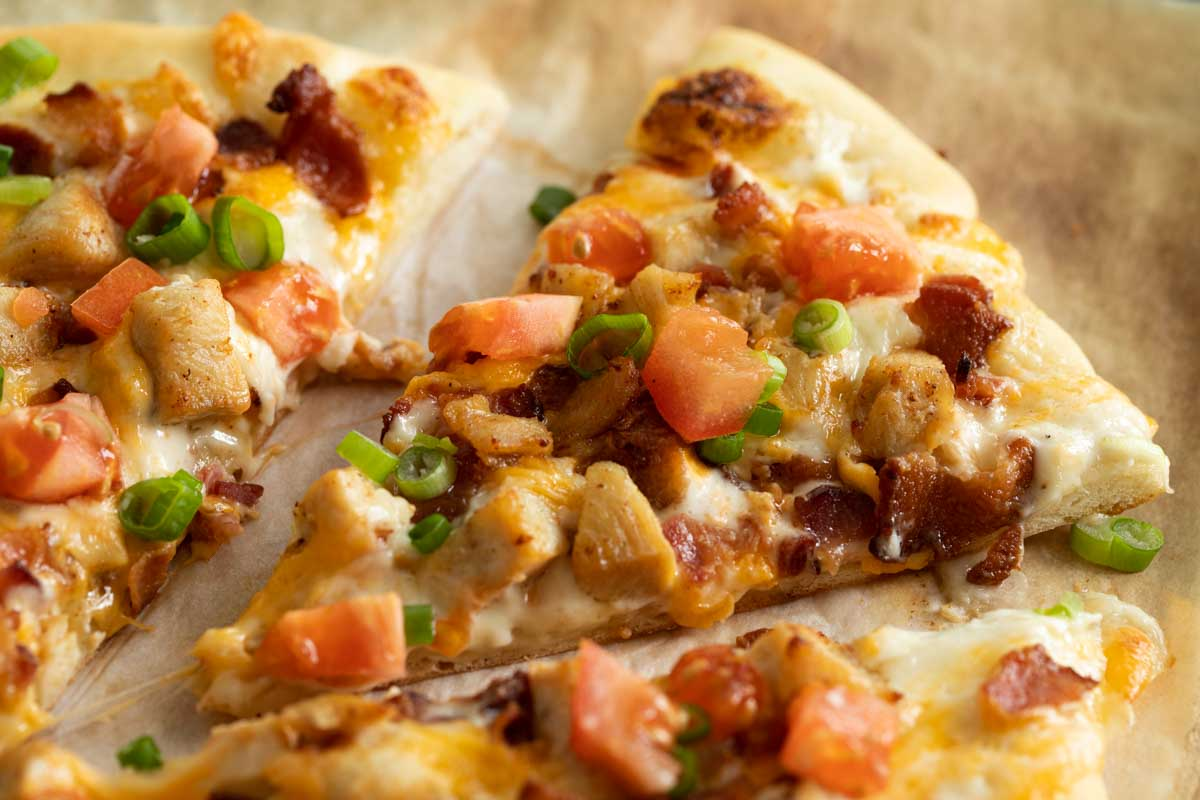 Chicken Bacon Ranch Pizza Taste And Tell