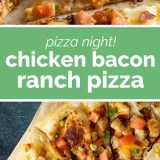 How to Make Chicken Bacon Ranch Pizza