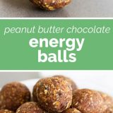How to Make Energy Balls with Peanut Butter and Chocolate
