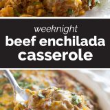 How to Make Beef Enchilada Casserole