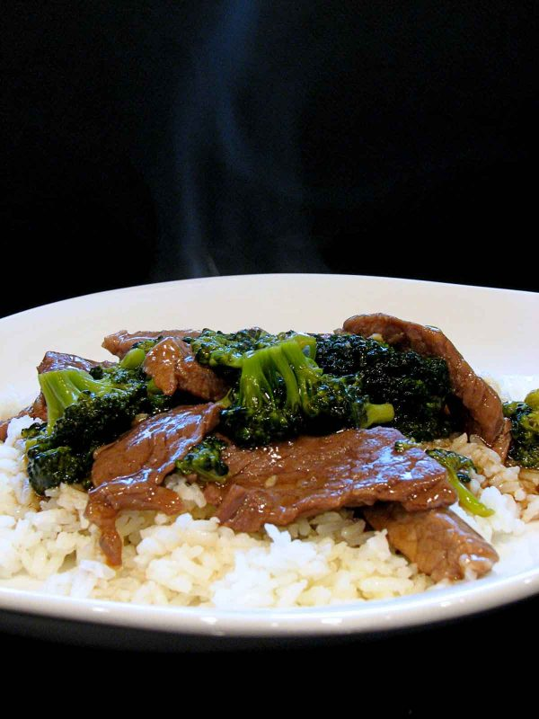 Beef and Broccoli over Rice