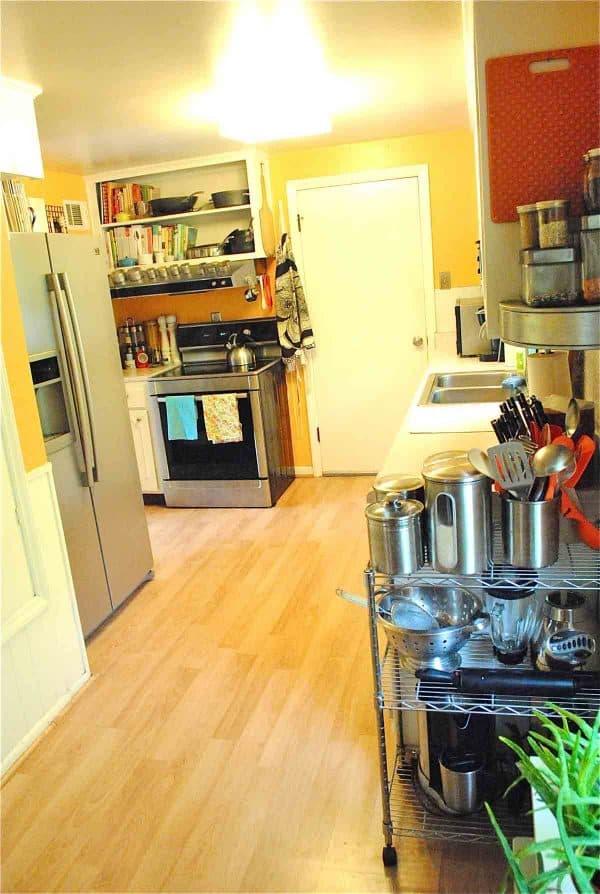 Bev Cooks kitchen
