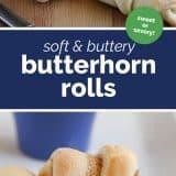 how to make butterhorns