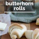 recipe for butterhorns