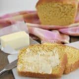 Loaf of butternut squash bread