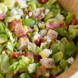 bowl of chopped cobb salad