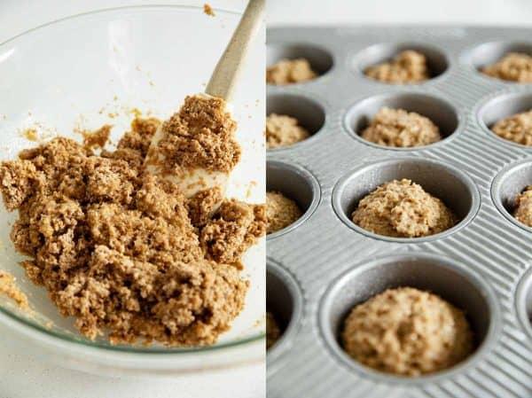 bran muffin batter