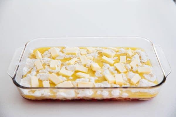 butter for dump cake