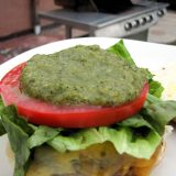 Green Chile Sauce for burgers