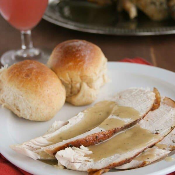 Thanksgiving Honey Herb Glazed Turkey