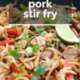 Recipe for Pork Stir Fry