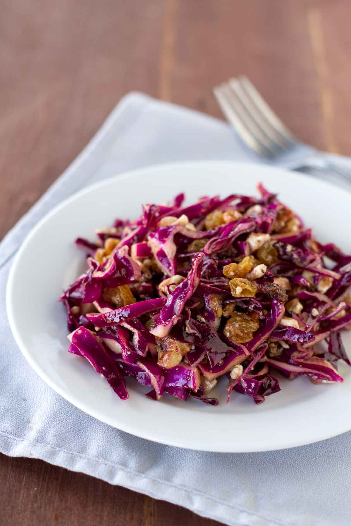 Red Cabbage Salad Taste And Tell