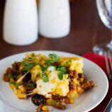 Serving of Tamale Pie