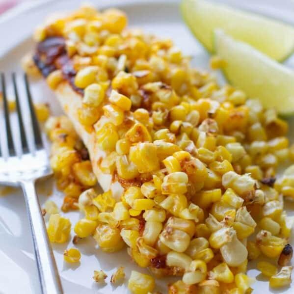 Tilapia with Roasted Corn Recipe