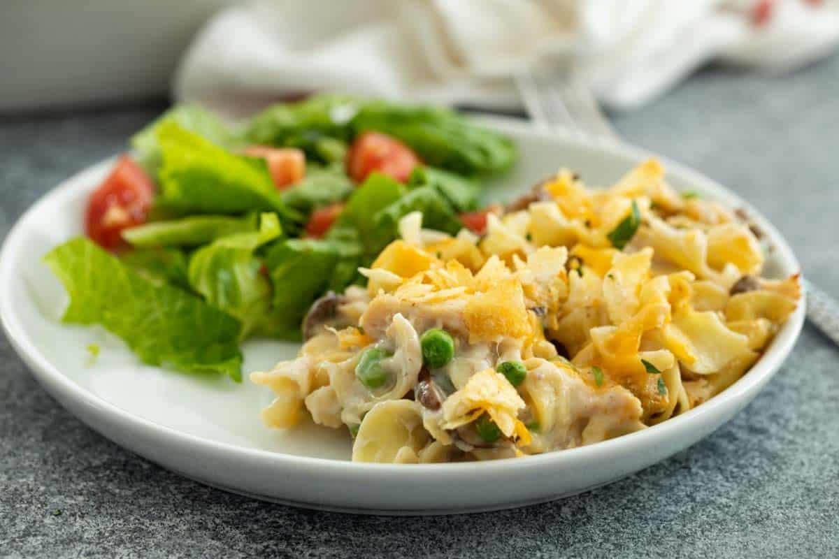 Classic Easy Tuna Casserole Recipe Taste And Tell