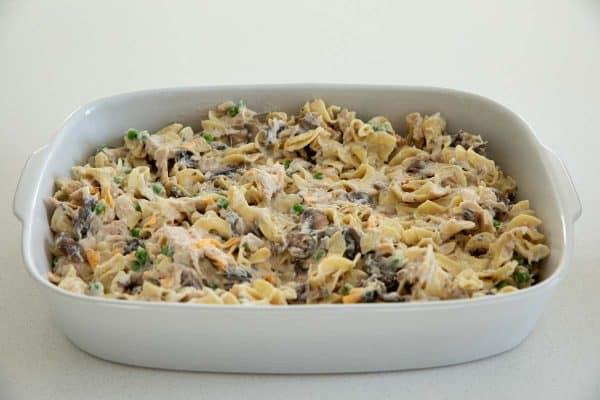 Tuna Casserole in a Dish