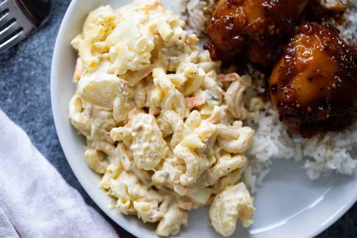 Hawaiian Style Potato Macaroni Salad Recipe