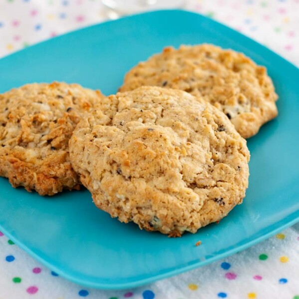 Oatmeal Coconut Cookies and Cream Cookies