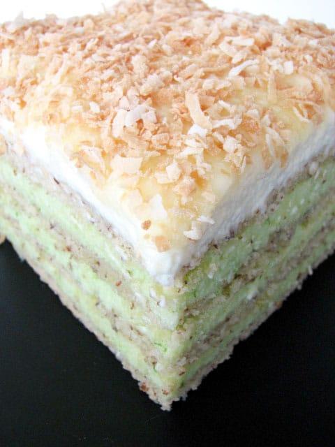 slice of Opera cake