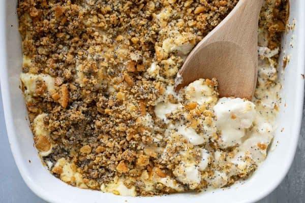 Dish of Poppy Seed Chicken