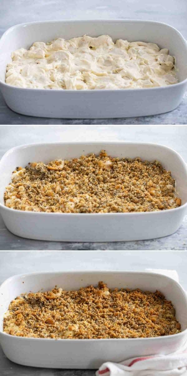 steps to make Poppy Seed Chicken