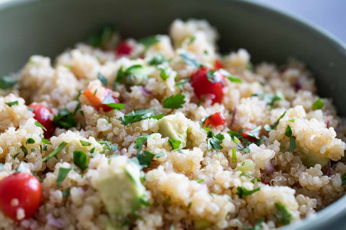 Quinoa Salad Recipe With Citrus Dressing Taste And Tell