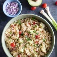 basic quinoa sala