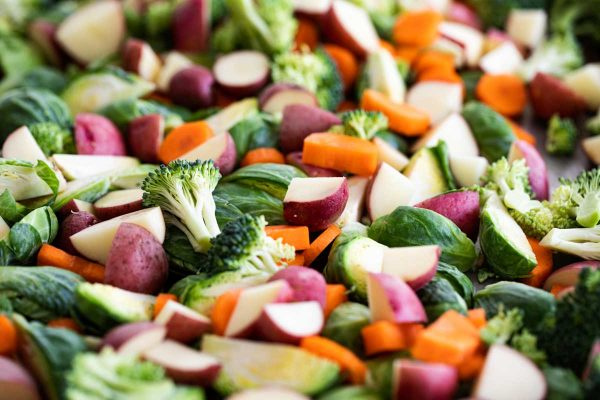 vegetables for roasting
