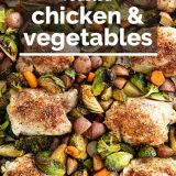 recipe for Roasted Chicken and Vegetables