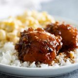 Shoyu Chicken over Rice