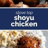 How to Make Shoyu Chicken