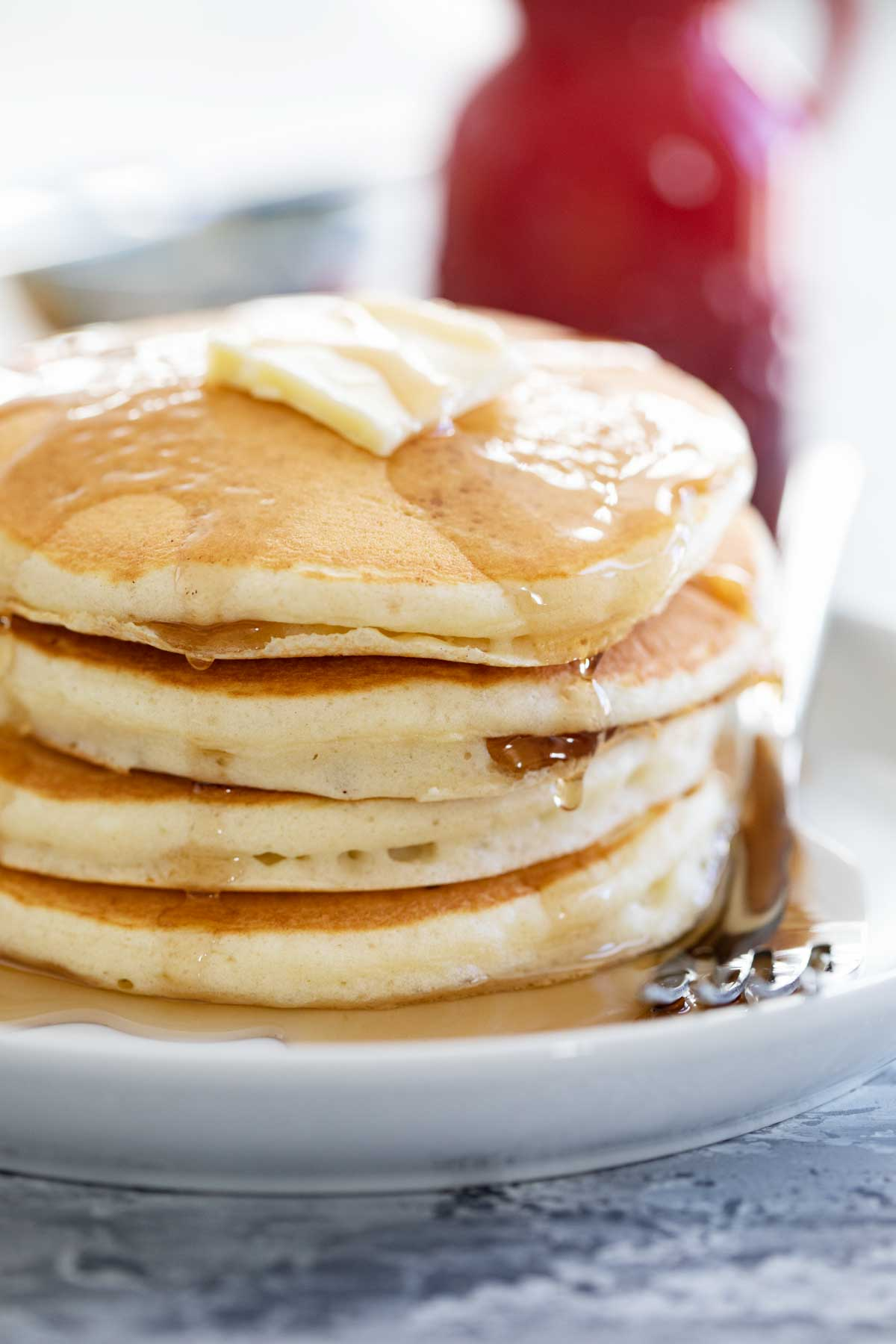 The Best Pancake Recipe Soft And Fluffy Taste And Tell