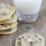 Old Fashioned Chocolate Chip Cookie