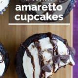 Chocolate Amaretto Cupcakes Recipe