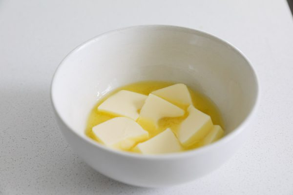melted butter for cookies