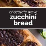 How to Make Chocolate Wave Zucchini Bread