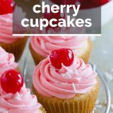 Coconut Cherry Cupcakes Recipe