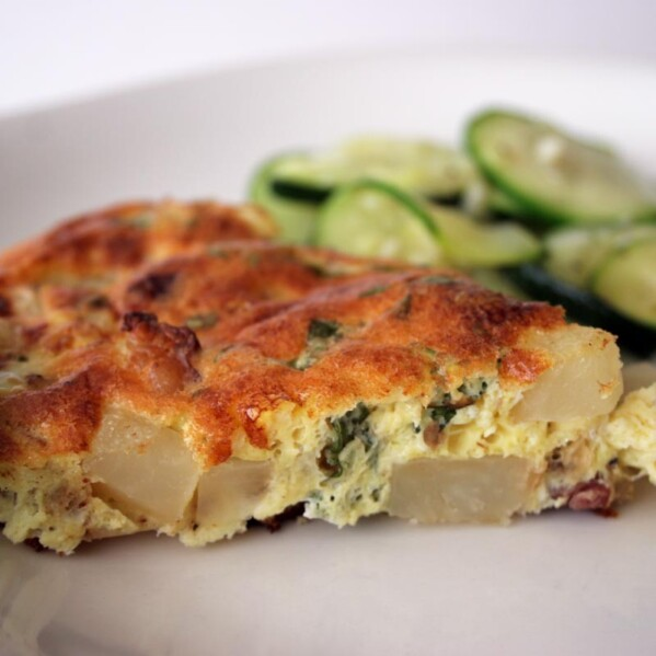 Frittata with Potato and Bacon