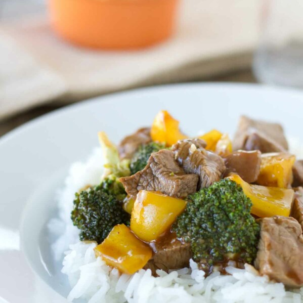 Hoisin Beef with Vegetables
