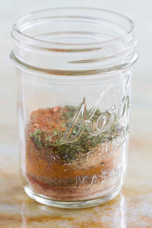 jar full of Jamaican Jerk Seasoning