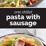 How to Make Skillet Pasta with Sausage