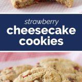How to Make Strawberry Cheesecake Cookies