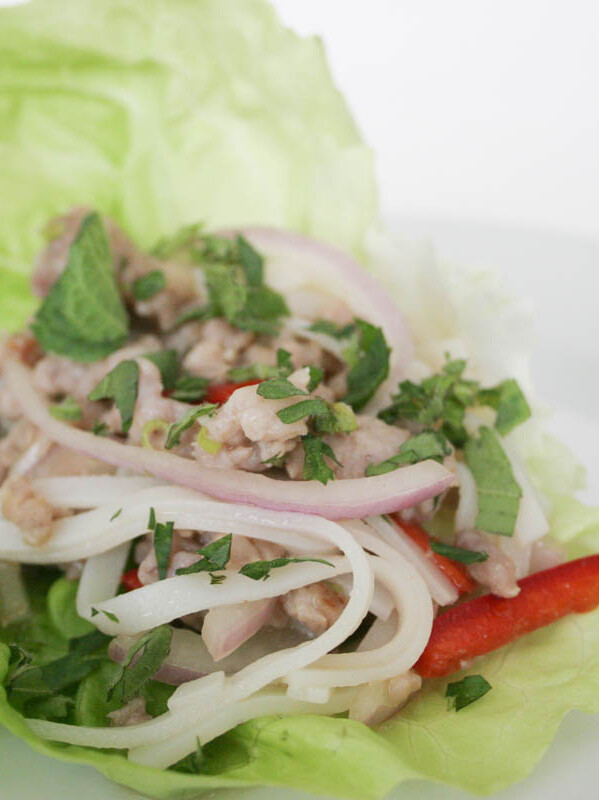 Thai Pork with Noodles
