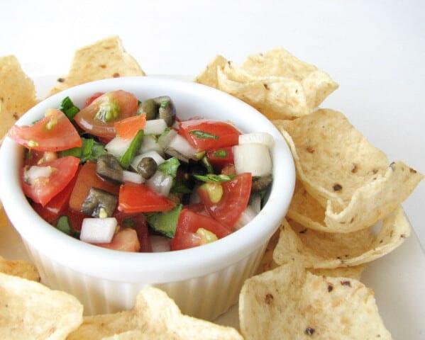 Tomato and Basil Salsa