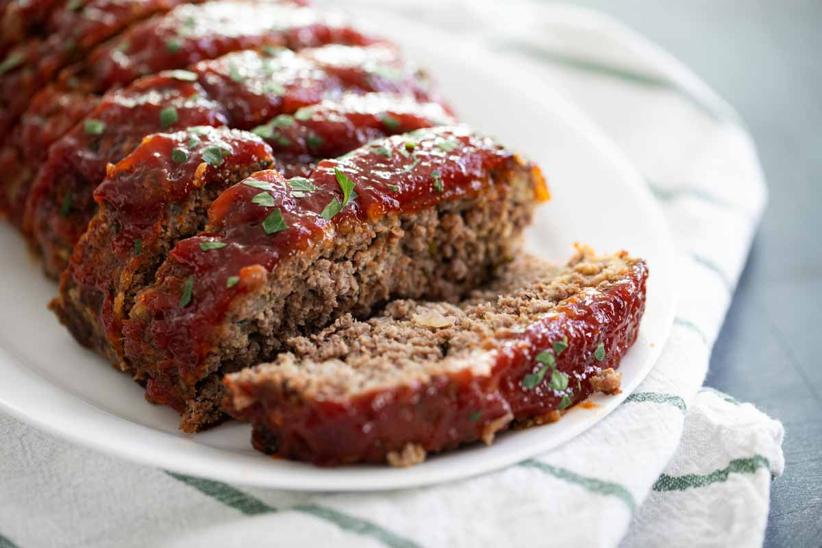 Traditional Meatloaf Recipe With Glaze Taste And Tell