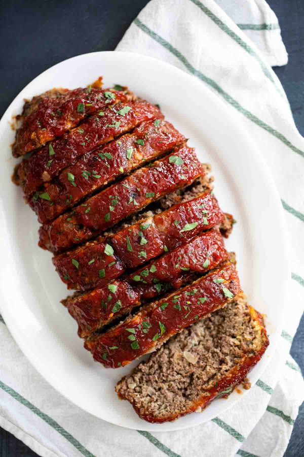 Whole Sliced Meatloaf