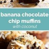 photos of banana muffins