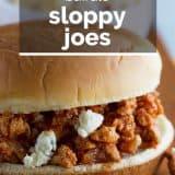Buffalo Sloppy Joes photo with text overlay